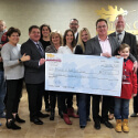 Friends of Kids with Cancer Check Presentation