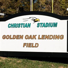 Golden Oak Lending Field Sign