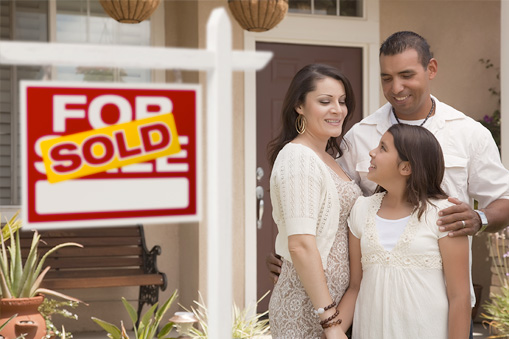 family home purchase after pre-approved for home loan