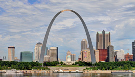 St. Louis Skyline for Golden Oak Lending